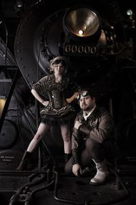 Steampunk-inspired photo
