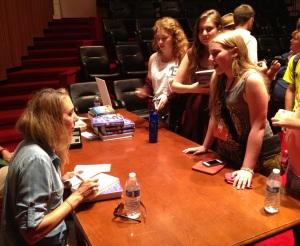 Joanna signing