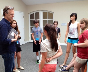 Peter Hedges teaching at Amherst